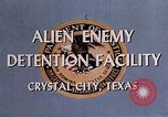 Image of Alien Enemy Detention facilities Crystal City Texas USA, 1943, second 28 stock footage video 65675072063