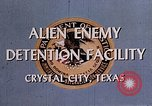 Image of Alien Enemy Detention facilities Crystal City Texas USA, 1943, second 29 stock footage video 65675072063