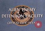 Image of Alien Enemy Detention facilities Crystal City Texas USA, 1943, second 30 stock footage video 65675072063