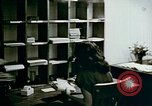 Image of US alien detention facility mail handling Crystal City Texas USA, 1943, second 23 stock footage video 65675072065