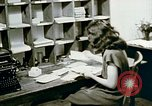 Image of US alien detention facility mail handling Crystal City Texas USA, 1943, second 40 stock footage video 65675072065
