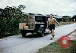 Image of alien detention facility food delivery Crystal City Texas USA, 1943, second 2 stock footage video 65675072066