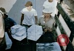 Image of alien detention facility food delivery Crystal City Texas USA, 1943, second 45 stock footage video 65675072066