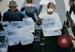 Image of alien detention facility food delivery Crystal City Texas USA, 1943, second 50 stock footage video 65675072066