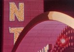 Image of neon signs United States USA, 1958, second 1 stock footage video 65675072076