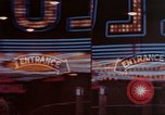 Image of neon signs of Las Vegas casinos and hotels Las Vegas Nevada USA, 1958, second 16 stock footage video 65675072081