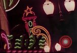 Image of neon signs of Las Vegas casinos and hotels Las Vegas Nevada USA, 1958, second 18 stock footage video 65675072081