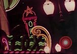 Image of neon signs of Las Vegas casinos and hotels Las Vegas Nevada USA, 1958, second 21 stock footage video 65675072081