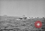 Image of United States Navy Task Force 58 in World War 2 Okinawa Ryukyu Islands, 1945, second 4 stock footage video 65675072095