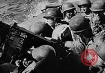 Image of United States Navy Task Force 58 in World War 2 Okinawa Ryukyu Islands, 1945, second 10 stock footage video 65675072095