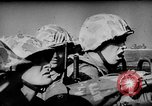 Image of United States Navy Task Force 58 in World War 2 Okinawa Ryukyu Islands, 1945, second 13 stock footage video 65675072095