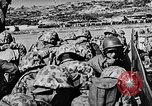 Image of United States Navy Task Force 58 in World War 2 Okinawa Ryukyu Islands, 1945, second 21 stock footage video 65675072095