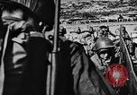Image of United States Navy Task Force 58 in World War 2 Okinawa Ryukyu Islands, 1945, second 22 stock footage video 65675072095
