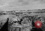Image of United States Navy Task Force 58 in World War 2 Okinawa Ryukyu Islands, 1945, second 24 stock footage video 65675072095