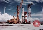 Image of Minuteman missile Cape Canaveral Florida USA, 1961, second 12 stock footage video 65675072132