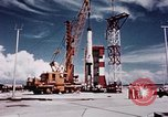 Image of Minuteman missile Cape Canaveral Florida USA, 1961, second 13 stock footage video 65675072132