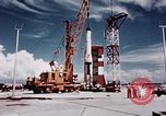 Image of Minuteman missile Cape Canaveral Florida USA, 1961, second 14 stock footage video 65675072132
