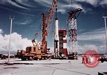 Image of Minuteman missile Cape Canaveral Florida USA, 1961, second 18 stock footage video 65675072132