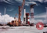 Image of Minuteman missile Cape Canaveral Florida USA, 1961, second 21 stock footage video 65675072132