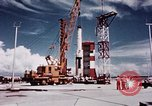 Image of Minuteman missile Cape Canaveral Florida USA, 1961, second 22 stock footage video 65675072132