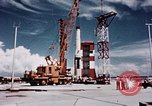Image of Minuteman missile Cape Canaveral Florida USA, 1961, second 25 stock footage video 65675072132