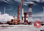 Image of Minuteman missile Cape Canaveral Florida USA, 1961, second 26 stock footage video 65675072132