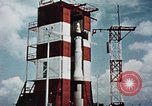 Image of Minuteman missile Cape Canaveral Florida USA, 1961, second 59 stock footage video 65675072132