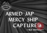 Image of Japanese mercy ship South Pacific Ocean, 1945, second 3 stock footage video 65675072160