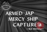 Image of Japanese mercy ship South Pacific Ocean, 1945, second 4 stock footage video 65675072160
