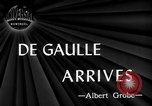 Image of Charles De Gaulle Washington DC USA, 1945, second 1 stock footage video 65675072161