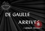 Image of Charles De Gaulle Washington DC USA, 1945, second 4 stock footage video 65675072161