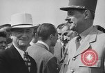Image of Charles De Gaulle Washington DC USA, 1945, second 15 stock footage video 65675072161