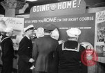 Image of released sailors Long Beach New York USA, 1945, second 11 stock footage video 65675072162
