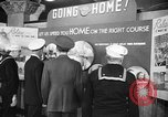 Image of released sailors Long Beach New York USA, 1945, second 13 stock footage video 65675072162