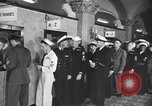 Image of released sailors Long Beach New York USA, 1945, second 16 stock footage video 65675072162