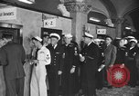 Image of released sailors Long Beach New York USA, 1945, second 17 stock footage video 65675072162