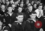 Image of released sailors Long Beach New York USA, 1945, second 23 stock footage video 65675072162