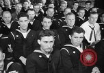 Image of released sailors Long Beach New York USA, 1945, second 24 stock footage video 65675072162