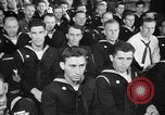 Image of released sailors Long Beach New York USA, 1945, second 25 stock footage video 65675072162