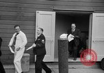 Image of released sailors Long Beach New York USA, 1945, second 34 stock footage video 65675072162
