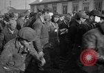 Image of released sailors Long Beach New York USA, 1945, second 41 stock footage video 65675072162