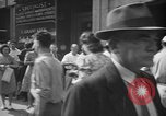 Image of released sailors Long Beach New York USA, 1945, second 51 stock footage video 65675072162