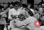 Image of baby crawling race New Jersey United States USA, 1945, second 13 stock footage video 65675072163