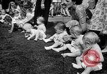 Image of baby crawling race New Jersey United States USA, 1945, second 19 stock footage video 65675072163