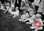 Image of baby crawling race New Jersey United States USA, 1945, second 20 stock footage video 65675072163