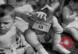 Image of baby crawling race New Jersey United States USA, 1945, second 22 stock footage video 65675072163