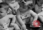 Image of baby crawling race New Jersey United States USA, 1945, second 24 stock footage video 65675072163