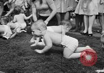 Image of baby crawling race New Jersey United States USA, 1945, second 28 stock footage video 65675072163