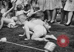 Image of baby crawling race New Jersey United States USA, 1945, second 29 stock footage video 65675072163