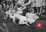 Image of baby crawling race New Jersey United States USA, 1945, second 30 stock footage video 65675072163